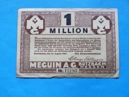 GERMANY  1 MILLION  MARK   1923 - [ 3] 1918-1933 : Weimar Republic