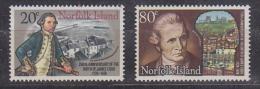 Norfolk Island 1979 Captain Cook 2v ** Mnh (27648A) - Norfolk Eiland