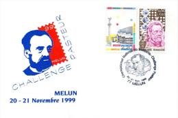 FRANCE - MELUN (Seine Et Marne) - CHALLENGE PASTEUR - 20 & 21 NOVEMBRE 1999 - Thème PASTEUR - Louis Pasteur