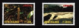 Surinam MNH Scott #1020-#1021 Set Of 2 America Issue: Environmental Protection - Surinam