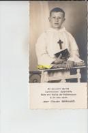 Communion Jc Bernard      Paillencourt  1970 - Devotieprenten
