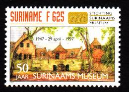 Surinam MNH Scott #1087 625f 50th Anniversary Surinam's Museum - Surinam