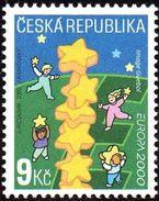 CEPT / Europa 2000 Tcheque N° 890 ** Colonne D'étoiles - Europa-CEPT