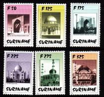 Surinam MNH Scott #1098-#1103 Set Of 6 Mosques - Surinam