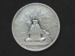 Médaille En ARGENT - Caisse D'épargne Et De Prévoyance De Paris 1894 -Travail Economie  **** EN ACHAT IMMEDIAT **** - Professionali / Di Società