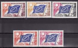 FRANCE 1958. Mi 2/6, MNH (**) - Neufs