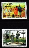 Surinam MNH Scott #1139-#1140 Set Of 2 125th Anniversary Of Hindustani Immigration - Surinam