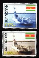 Surinam MNH Scott #1148-#1149 Set Of 2 Ferry Boat - Surinam
