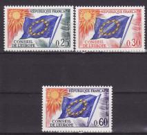 FRANCE 1965. Mi 10/12,  MNH (**) - Service