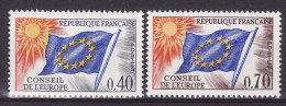 FRANCE 1969. Mi 13/14,  MNH (**) - Service