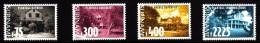 Surinam MNH Scott #1178-#1181 Set Of 4 Old Plantation Houses - Surinam
