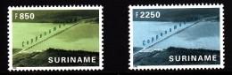 Surinam MNH Scott #1190-#1191 Set Of 2 Coppename Bridge - Surinam