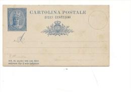 1285)  Intero Postale SAN MARINO 10 CENT NUOVO - Interi Postali