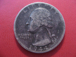 Etats-Unis - USA - Quarter Dollar 1944 Washington 4879 - Émissions Fédérales