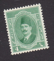 Egypt, Scott #95, Mint Hinged, King Fuad, Issued 1923 - Egypt