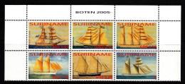 Surinam MNH Scott #1324 Block Of 6 Ships - Surinam