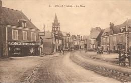 36 Indre :  Déols   La Place     Réf 1458 - Francia