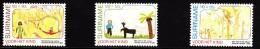Surinam MNH Scott #B380-#B382 Set Of 3 Children´s Drawings - Children's Charirties - Surinam