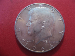 Etats-Unis - USA - Half Dollar 1964 Kennedy 4927 - 1964-…: Kennedy