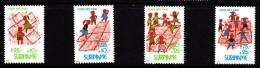 Surinam MNH Scott #B398-#B401 Set Of 4 Children Playing Hopscotch - Surinam