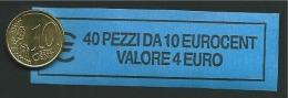 ITALIA  2014 - ROLL 10 CENT  ORIGINALE ZECCA - DATA VISIBILE - FDC - Rotolini