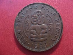 Nouvelle-Zélande - Half Penny 1955 Elizabeth II 5608 - Nouvelle-Zélande
