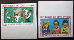 COTE D'IVOIRE               N° 322/323     Non Dentelé                  NEUF** - Côte D'Ivoire (1960-...)