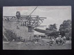 AK KORNEUBURG Brückenbau 1915 /// D*19578 - Korneuburg