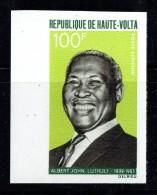 1968   Albert John Luthuli  Poste Aérienne   Non Dentelé ** Sans Charnière - Haute-Volta (1958-1984)