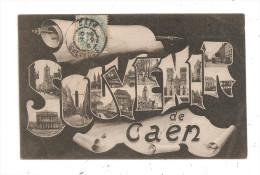 Souvenir De Caen--(B.1330) - Caen