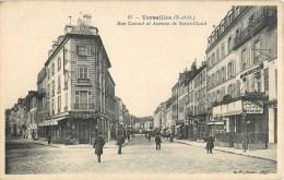 VERSAILLES RUE CARNOT AVENUE DE SAINT CLOUD COMMERCES  78 - Versailles