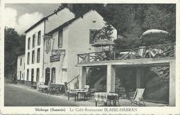 Maboge ( Samrée ) - Le Café-Restaurant Blaise-Habran - Pub Bières : Piedboeuf  ( Voir Verso )