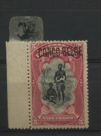 38  *  Surcharge Bruxelles ?    Forte Charnière Cote ? - 1894-1923 Mols: Nuovi