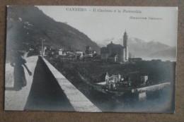 CANNERO -CIMITERO E PARROCCHIA  ---- FP  -BELLISSIMA - Italie