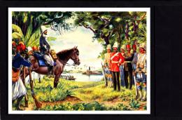 Image IMA, Commandant Marchand à Fachoda, Kodok, Soudan, Nil , Union Française  Série C N° 10 - Old Paper