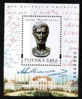 Poland 1998, Mi Block 134, **MNH; A. Mickiewicz - Ongebruikt