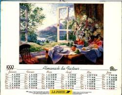 ALMANACH DES P.T.T 1999 (57)  -  Complet 2 VUES ** PAYSAGES (Félix ROSENSTIEL´S )** Calendrier *OLLER * N°230 - Calendriers