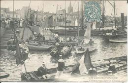 CPA 85 - Sables D'Olonne - Embarquement Pour La Chaume - Sables D'Olonne
