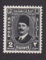 Egypt, Scott #192, Mint Hinged, King Fuad, Issued 1936 - Ägypten