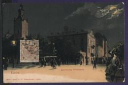 5632 Ukraine Poland Lwow Lemberg Kawiarnia Wiedenska 1900s Litho Night View - Ukraine