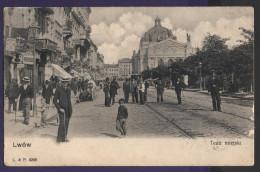 5640 Ukraine Poland Lwow Lemberg Teatr Miejski 1900s - Ukraine