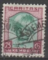 Luxemburg 1931 Caritas 1F 25F, Used (Ref: 1401) - Luxembourg