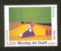 NICOLAS DE STAEL - Y&T N° 3762 ** MNH - Nuovi