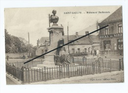 CPA  - Saint  Saulve  - Monument Duchesnois  -  (Docks Du Nord ) - Other Municipalities