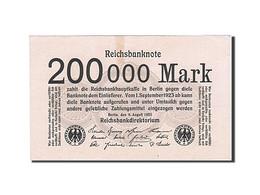 Allemagne, 200,000 Mark, 1923, KM:100, 1923-08-09, SUP+ - [ 3] 1918-1933 : République De Weimar