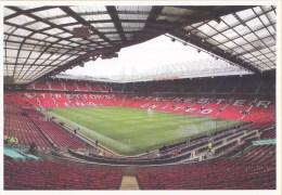 Postkaart - Uitgifte 19 Augustus 2015 - 50 Jaar Voetbal International - Old Trafford - Manchester United - Ongebruikt - Stadions