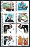 "Micronesia     ""Pioneers Of Fligt""     Set    SC# 191   ( Block Of 8)    MNH** - Micronesia"