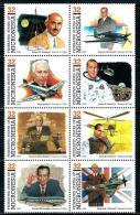 "Micronesia     ""Pioneers Of Flight""     Set  (block Of 8)    SC# 210    MNH** - Micronesia"