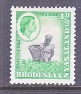 RHODESIA & NYASALAND  158  * - Rhodesië & Nyasaland (1954-1963)
