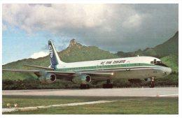 (334) Air New Zealand DC-8 - 1946-....: Moderne